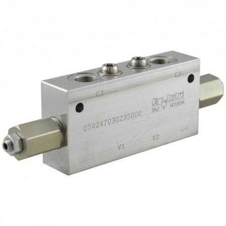 dual counterbalance 3/8 VBSO DE NN 38 20