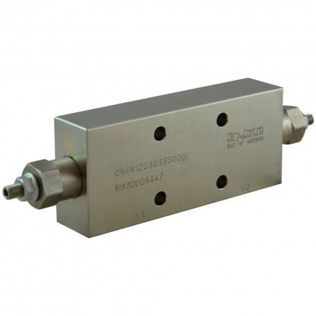 dual counterbalance 1/2 A VBSO DE 30 FCB PI 12 35 A