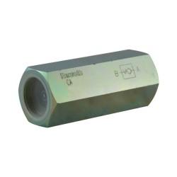 Unidirectionnal check valve