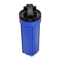 """Filtre cartouche PWFS 10"""" cuve polypropylène (Bleu standard)"""