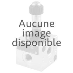 """Déviateur 3 voies 25l/mn 1/4"""" VS70 AI commande hydro/pneumatique drain interne"""