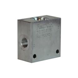 "Bloc 3/8"" aluminium cavité 077 B385623000"