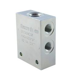body 1/4 acier cavity058 - 4 voies CA 08A 4N