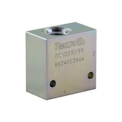 """Bloc 3/8"""" acier CA 10A 2N 036E"""