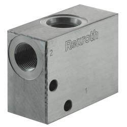 """Bloc 3/8"""" aluminium cavité 018"""