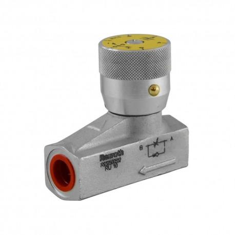 Way flow control valve 3/8 45l/mn 450 bar