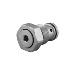 Unidirectionnal check valve cartridge VU N 38 1 bar