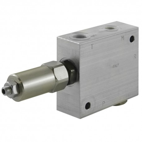 Reducer with unidirectionnal check valve