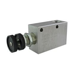 Réducteur 20l/mn bloc 3/8 VRP R 38 100 bar max réglage volant