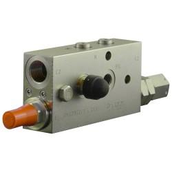 Clapet de sécurité hydraulique A VBC 90 Droite mini pelle