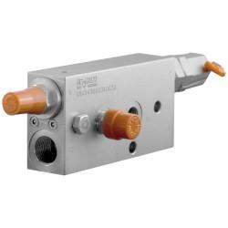 Clapet de sécurité hydraulique A VBC 90 DC mini pelle