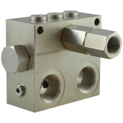 Purge valve for hydrostatic transmission A VSL R 100 R