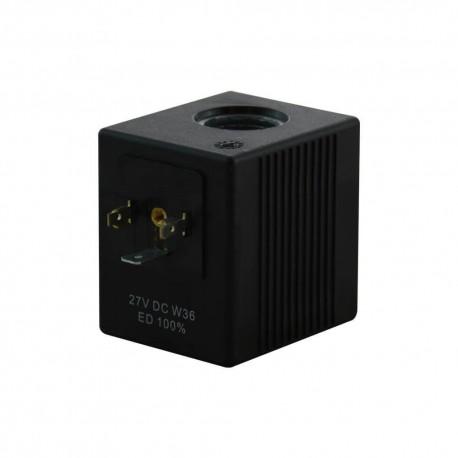 Bobine distributeur hydraulique REXROTH 27 volts C4801