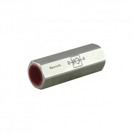 Clapet anti retour hydraulique en ligne 1/2'' tarage10b
