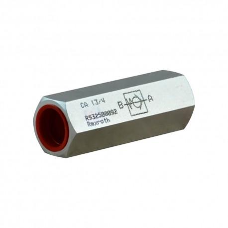 Clapet anti retour hydraulique en ligne 1/2'' tarage 4b