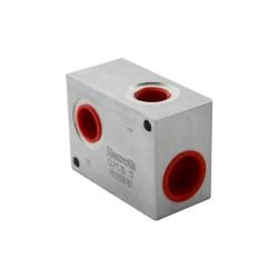 "Bloc aluminium pour limiteur LC oleodinamica LPC10 1/2"""