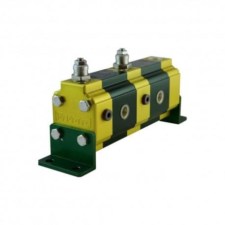 Diviseur de débit Gr.2 à 2 éléments 4.1cc avec LP