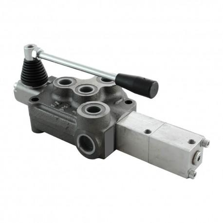 Single block distributor 65l/mn 1 element 90/250 bar BM70/1 GU MOA1 pneumatic control