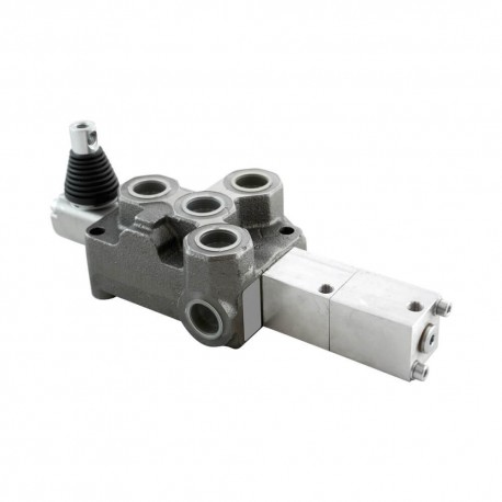 Single block distributor 100l/mn 1 element 250 bar BM100/1 GK MOD1P pneumatic control