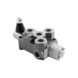 Single block distributor 100l/mn 1 element 250 bar BM100/1 GK MOD8 crantage