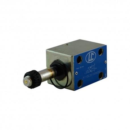 Distributeur cetop 3 4x2 30l/mn H X LC1ZC301 sans bobine