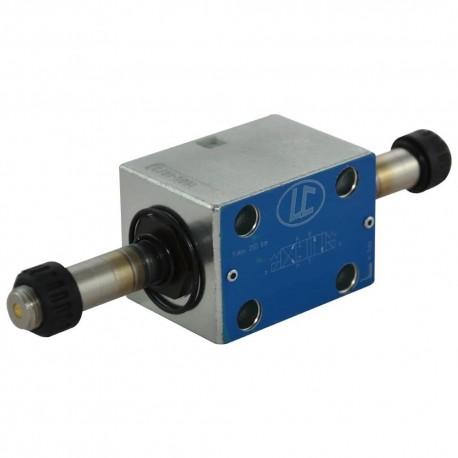 Distributeur cetop 3 4x3 30l/mn SPE LC1ZK209 sans bobine