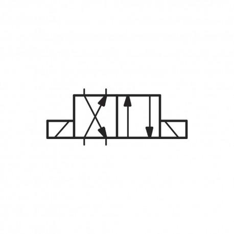 Distributeur cetop 3 4x2 60l/mn // X LC1DZM201 BISTABLE