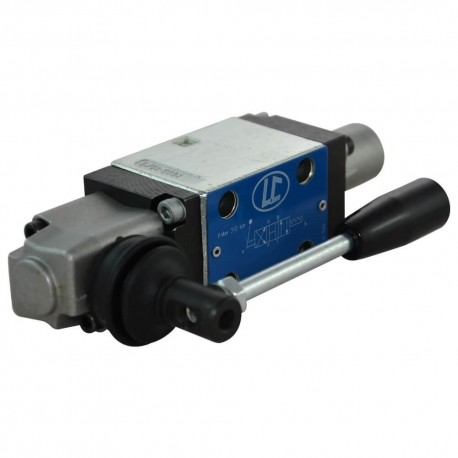 Distributeur hydraulique cetop 3 4x3 H à levier cranté 50L