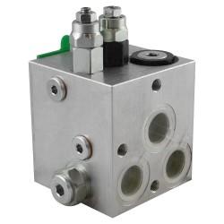 Distributeur Cetop5 bloc basse et haute pression automatique