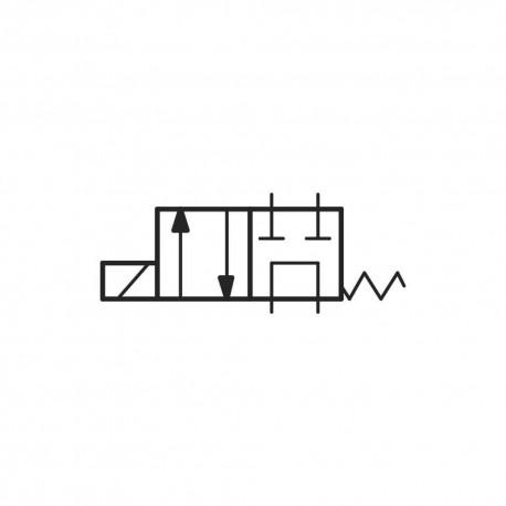 Distributeur cetop 3 4x2 60l/mn PT // LC1DZB301 sans bobine