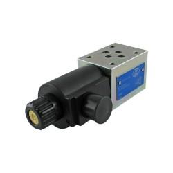 Distributeur cetop3 4x2 60l/mn float LC1MC DZ T301 C45 12Vcc