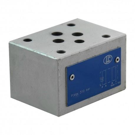 Cetop 3 modulaire CAR P LC1M.VR/P 0,5 bar de retenu