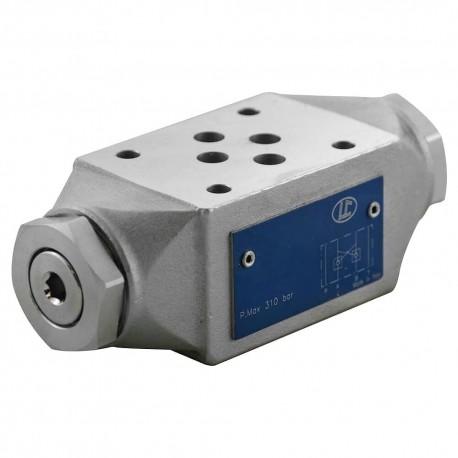 Cetop 3 modulaire CAR AB LC1M.VR/AB 0,5 bar de retenu