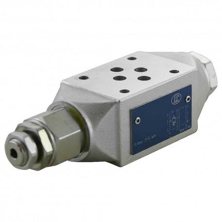 Cetop3 modular press.A LC1M.VM1/A.KV setting vis (40 à 180 bar)