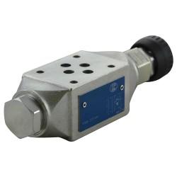 Cetop3 modular press.B LC1M.VM1/B.KB setting handwheel (40-180 bar)