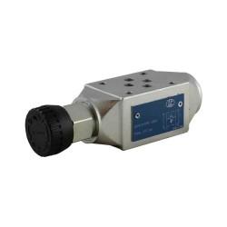 Modular cetop3 press.P LC1M VM1/P KV setting handwheel 80/350 bar