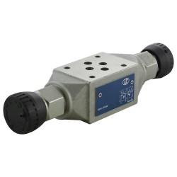 Cetop3 modular press.AB LC1M VM1/AB KN setting handwheel 20/130 bar