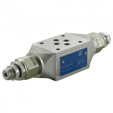 Cetop3 modular press.AB LC1M VM1/AB SN setting vis 20/130 bar