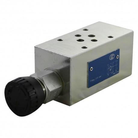 Cetop3 modular press.A LC1M VM2/A KV N setting volant (80 à350 bar)