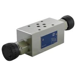 Cetop3 modular press.AB LC1M VM2/AB KN setting volant 20/130 bar
