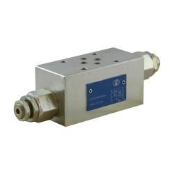 Cetop3 modular press.AB LC1M VM2/AB SV setting vis 80/350 bar