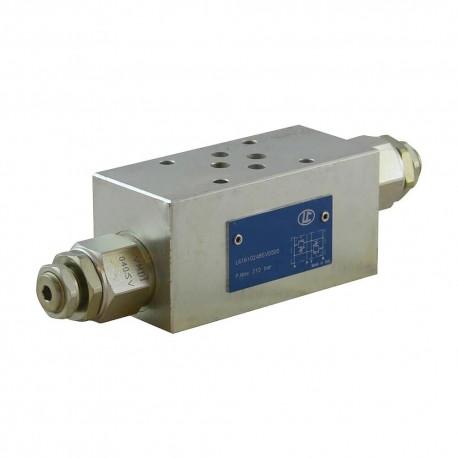 Cetop 3 modulaire pression AB LC1M VM2/AB SV 80/350 bar
