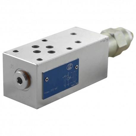 Cetop 3 modulaire réduction de pression 10 à 50 bar