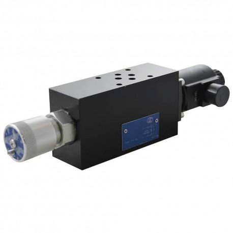 Cetop3 modular Bi vitesse LC1M RL AM 25l/mn 12dc + connector