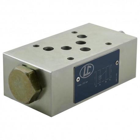 Distributeur Cetop5 modulaire CAR A LC2M.VR/A 1 bar