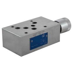 Cetop5 modular press. P LC2M V1/P KN setting handwheel 10-140 bar