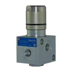 OCGF - Déviateur 3V 25l/mn 1/4 VS70 NI cde hydro/pneumatique drain interne