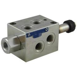 Déviateur 6V 25l/mn 1/4 VS120 6EE sans bobine C36