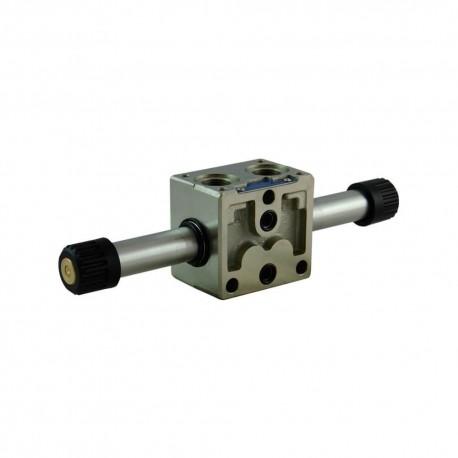 Empilable 4x2 ED2 50l/mn DZ 3/8'' M501 Bistable sans bobine
