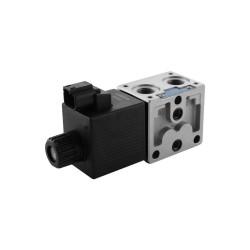 Stackable with coil 4x2 50l/mn ED2 DZ 3/8'' Y301 27dc Deutsch DT04-2P Crossed parallel